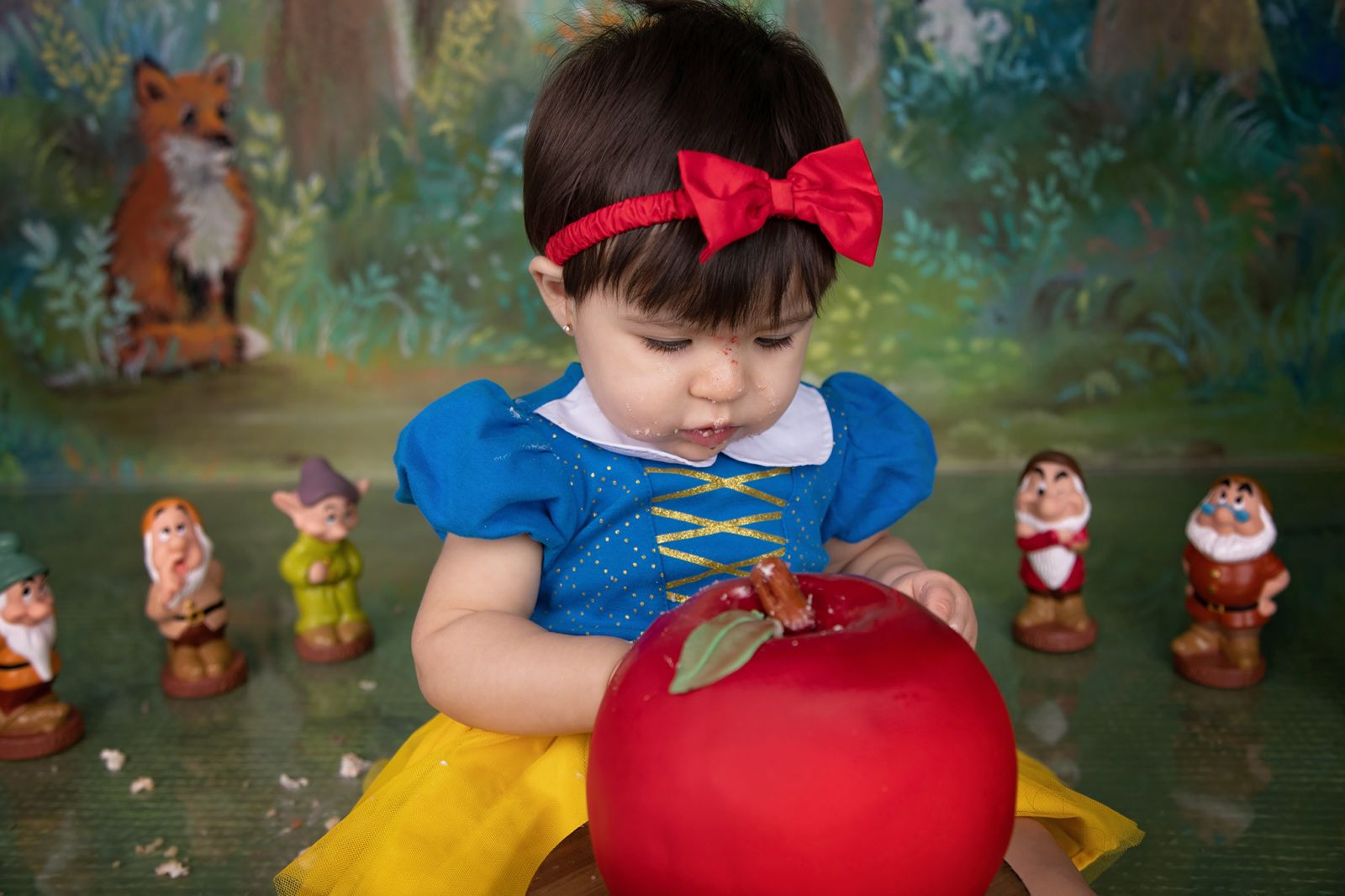 Snow-White-Cake-Smash-Newborn-Photographer-Photography-Joshua-Ft-Fort-Worth-Dallas-DFW-Joshua-Alvarado-Crowley-Cleburne-Arlington-Kid-Pictures